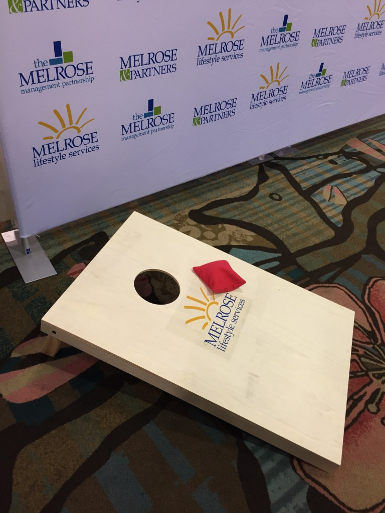 Corn Hole with Melrose Lifestyle Services