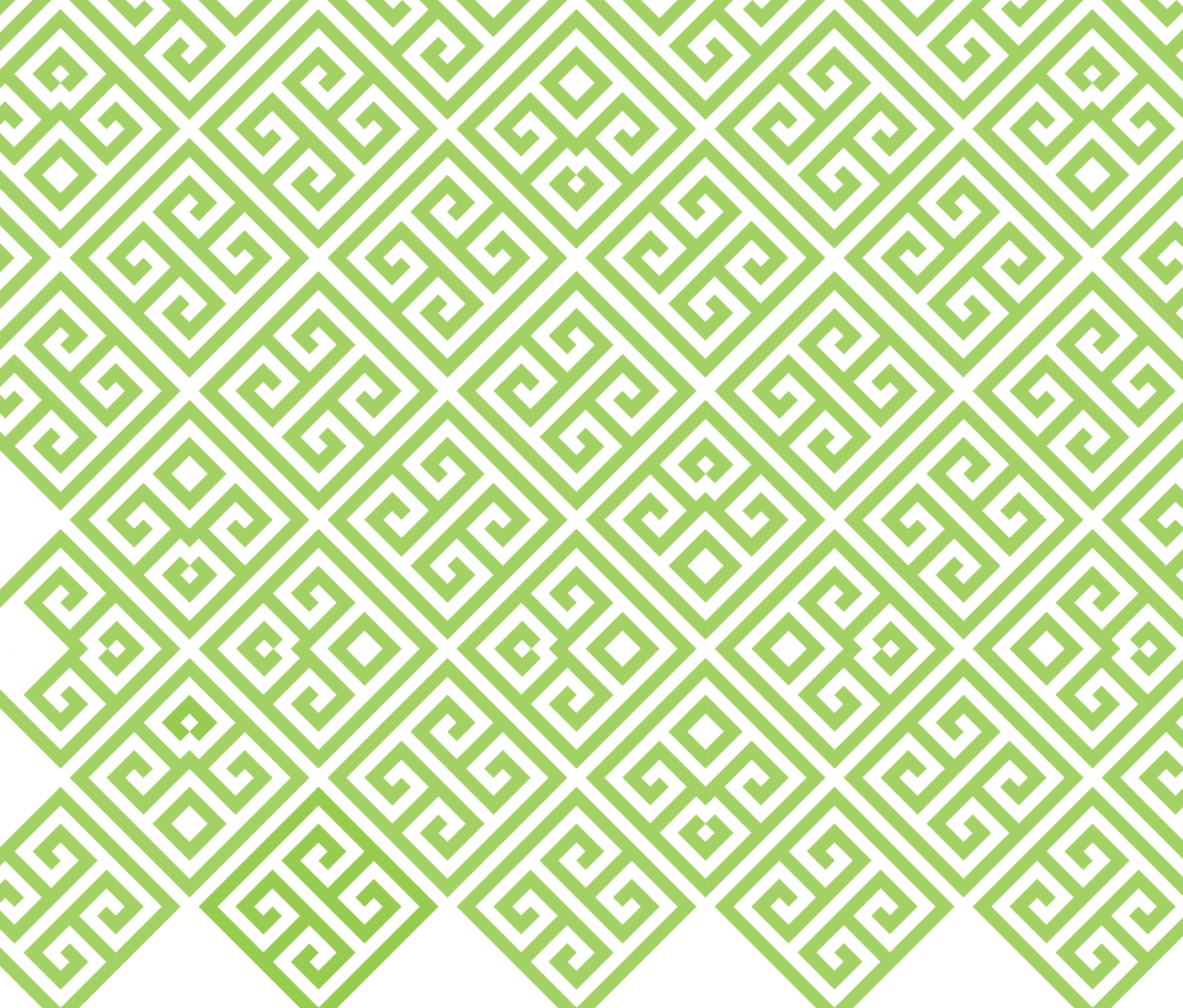 Green Pattern extend darker